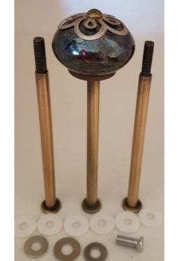 Bluemehuet schwarz 100-100-100 bronce