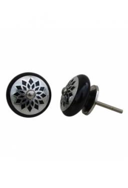 Bluemehuet schwarz silber